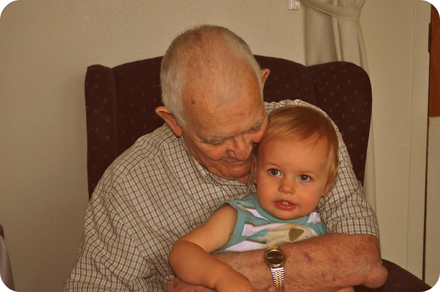 grandpa with kaleb
