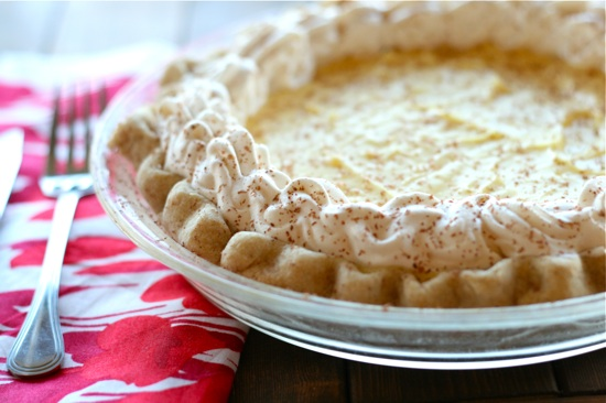 Eggnog Cream Pie Recipe — Dishmaps