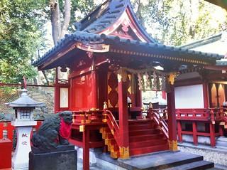 At 山王稲荷神社 八坂神社 猿田彦神社