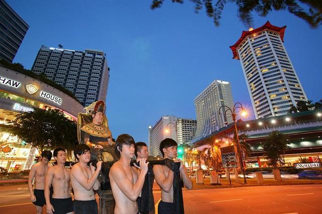 Shopping at Orchard Road