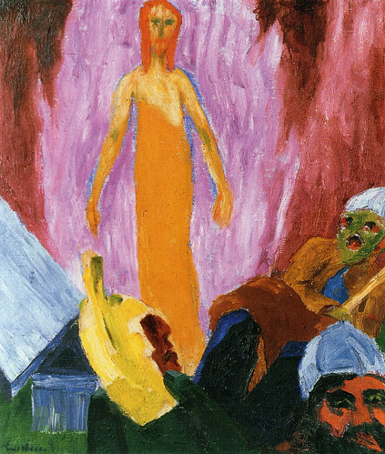 [ N ] Emil Nolde - Auferstehung (Resurrection) (1912)