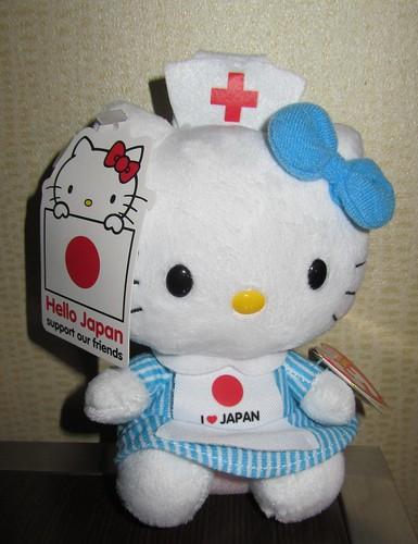 Hello Kitty Red Cross nurse