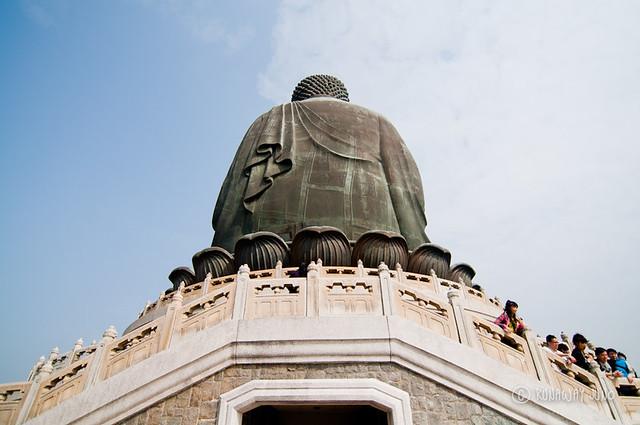 Back of Big Buddha