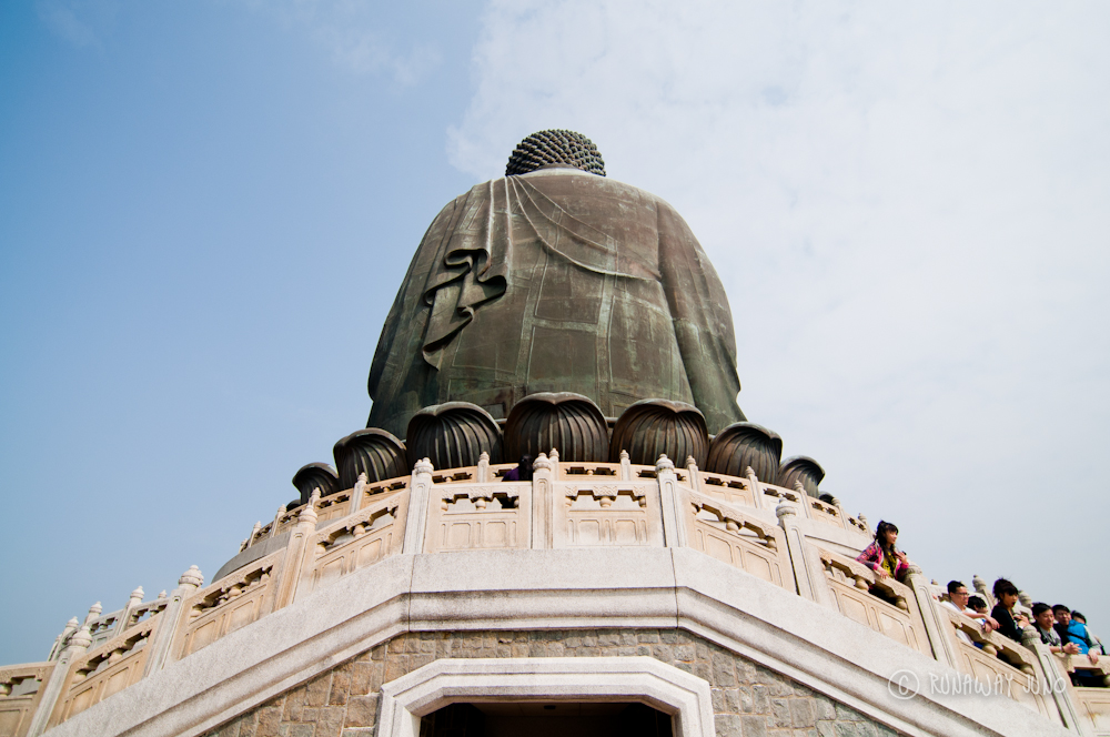 Back of Big Buddha