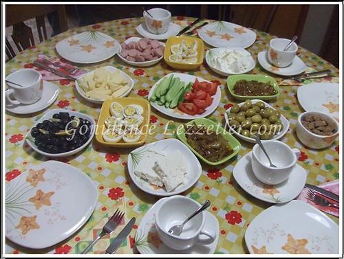 aygülde kahvaltı
