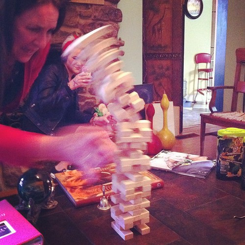 Toppling over #jenga