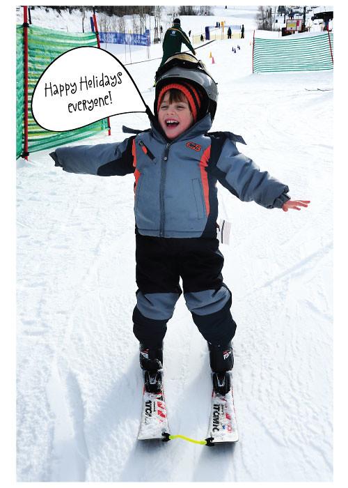 Happy Holidays from Kes