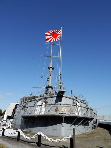 Memorial Ship MIKASA 記念艦三笠