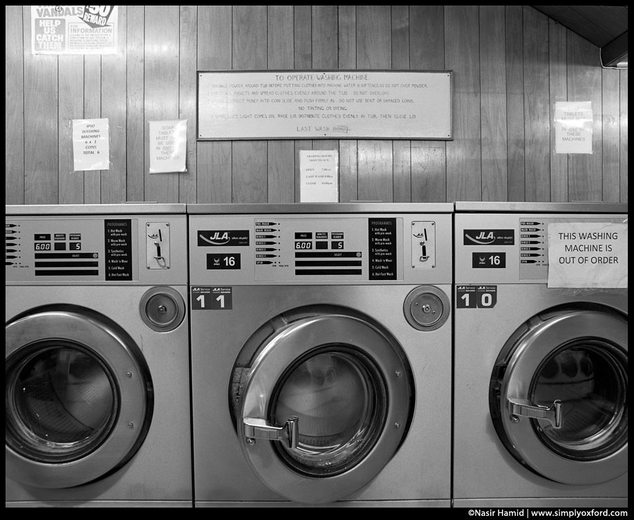 Washing machine operating instructions