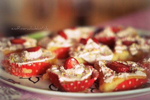 {cupcakes fresa}