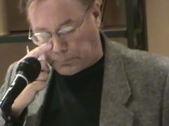 Ed Tampa llorando al dar el comunicado