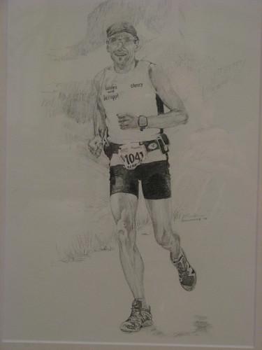 Zeichnung Finisher Art Zermatt