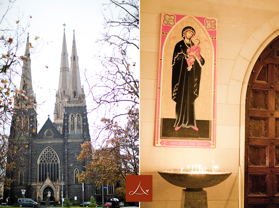 During my exploration of Melbourne city, I visited the beautiful St. Patricks Cathedral where I offered a prayer for my late father. I did some private reflection here to find some peace in my heart & soul. And found them I did.
