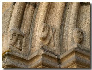 Ourense. Iglesia de la Santísima Trinidad. Portada occidental