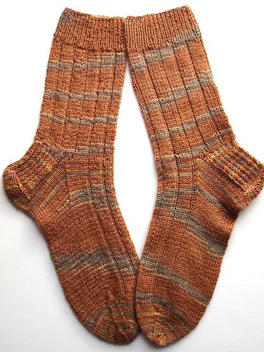 Painted Desert socks
