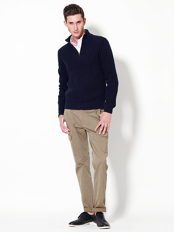 UNIQLO EARLY SPRING STYLE FOR MEN 2012_004Mathias Bilien