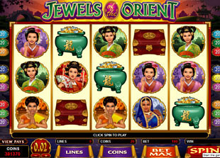 Jewels of the Orient slot game online review