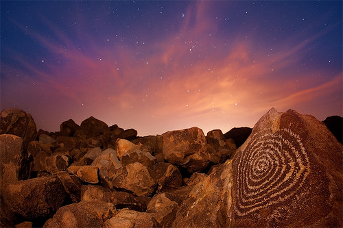 """The Solstice"" Hohokam Indian Petroglyphs"