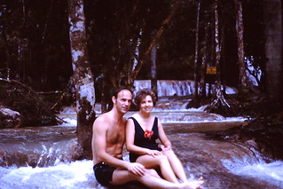 1971, Norman and Joan in Jamaica