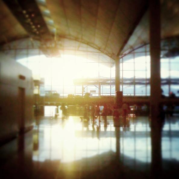 Departure.