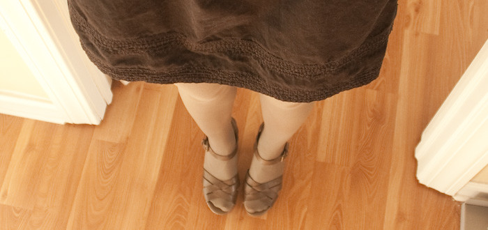 lbd, sandals with tights, dash dot dotty, outfit blog, ootd, h&m, olive tights, headband