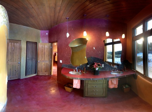 Hobbit House: Master Bath