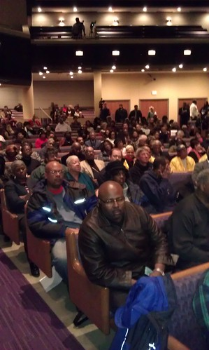 Mass meeting in opposition to the imposition of emergency management in Detroit on January 2, 2012. The event was held at the Tabernacle Missionary Baptist Church on the westside. (Photo: Abayomi Azikiwe) by Pan-African News Wire File Photos