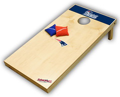 New England Patriots Cornhole Boards