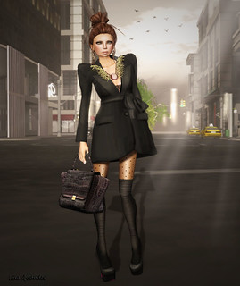 CHANTKARE CHADO COAT DRESS by Applonia Criss