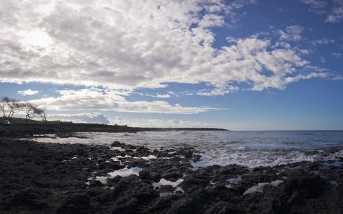 La Perouse Bay, Maui, Hawai'i (panorama, HDR)