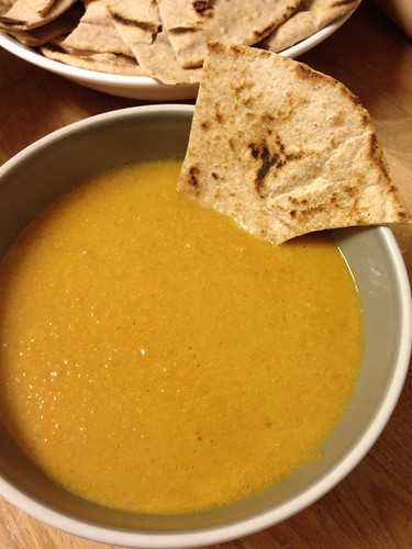 Curried Peanut Soup 3