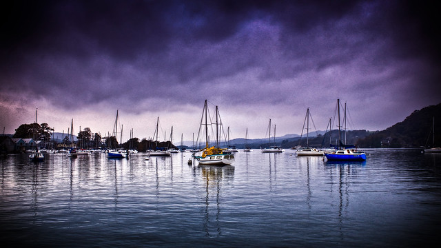 0265 - England, Lake District, Windermere HDR