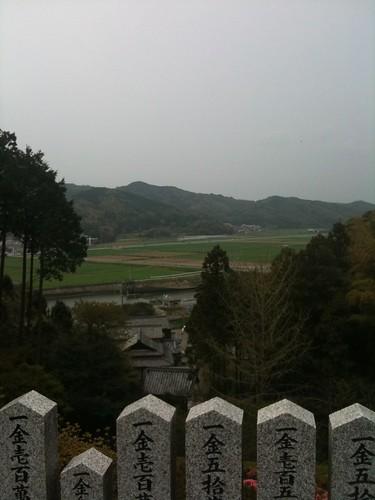 鎮国寺からの景色
