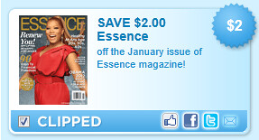 Off The January Issue Of Essence Magazine! Coupon