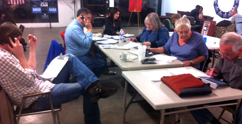 Volunteers Making Calls
