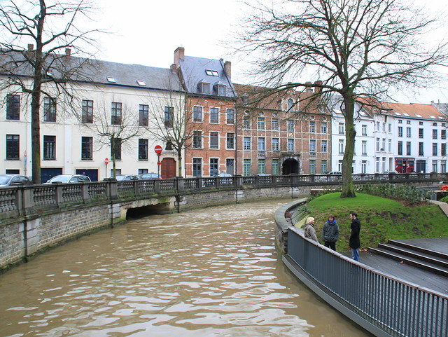 De Dijle, Leuven - the river Dyle, Louvain