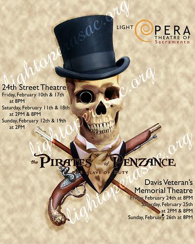 Pirates of Penzance, 2012