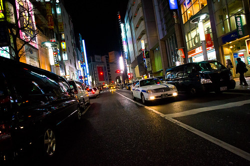 Shibuya, Night