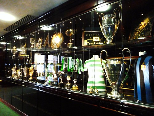 Trophy Cabinet Celtic Football Club