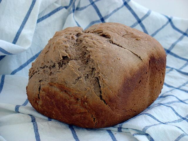 Pan con harina de castañas
