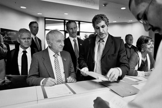 Patagonia's Yvon Chouinard with Donald Simon;  AB 361, Benefit Corporation