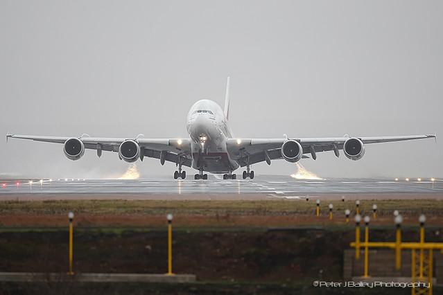 Emirates A380-861 A6-EDS (cn086) Manchester EGCC