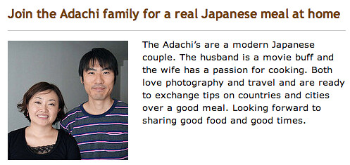Adachi family - Nagomi Kitchen -Enjoy Japanese cooking!