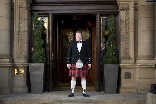 Andy Fraser, Tartan Butler, The Balmoral