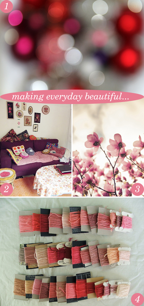 making everyday beautiful {1-11-12} | Emma Lamb