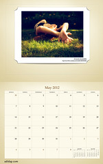 ADIDAP Calendar 2012 UK Retro May