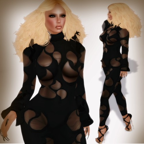 A&A Fashion Hili Outfit Black