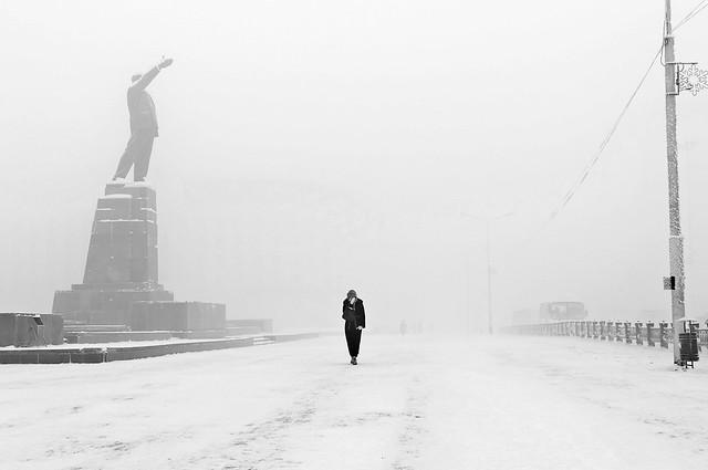 Yakutsk. Minus 52 degrees Celcius