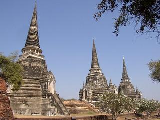 Wat Phra Si Sanphet (Ayutthaya, Thailand 2003)