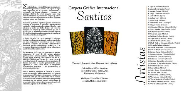 Invitación Bellas Artes